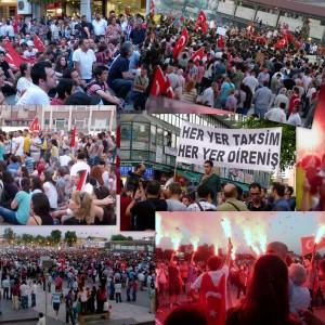 Taksim Gezi'ye Adapazarı'ndan destek